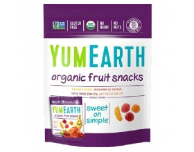 Yumearth Organic Fruit Snack, Σνακ Φρούτων, 50g