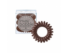 Invisi Bobble Κοκαλάκι Hair Rings Pretzel Brown Power 3τμχ