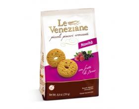 Le Veneziane -Molino di ferro Μπισκότα με φρούτα του δάσους 250 gr