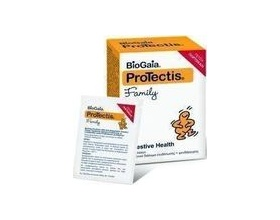 BioGaia ProTectis Family Διάλυμα Ενυδάτωσης με Προβιοτικό & Ψευδάργυρο με Γεύση Πορτοκάλι, 7 φακ