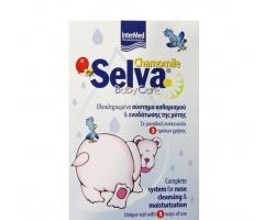 INTERMED, Camomil Selva Baby care, Ολοκληρωμένο σύστημα καθαρισμού και ενυδάτωσης της μύτης με χαμομήλι 30ml+7gr