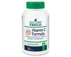 Doctor's Formulas Vitamin C 1000 Formula Φόρμουλα βιταμίνης C 1000 mg γρήγορης απορρόφησης 120 δισκία