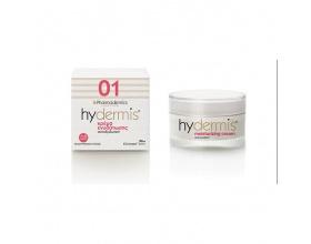 Pharmadermics  Hydermis 01 Moisturizing Cream Κρέμα Eνυδάτωσης Κρέμα ενυδάτωσης, ανιοξειδωτική, για αναζωογόνηση, ελαστικότητα, προστασία από τις ελεύθερες ρίζες 50ml