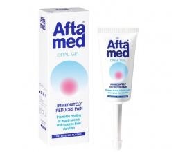Aftamed Gel ανακουφίζει γρήγορα από τον πόνο που προκαλείται από έλκη στο στόμα και αφθώδη στοματίτιδα 15ml
