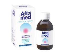 Aftamed Στοματικό Διάλυμα είναι ιδιαίτερα αποτελεσματικό για την πρόληψη και αντιμετώπιση του στοματικού έλκους, στοματίτιδας 150 ml