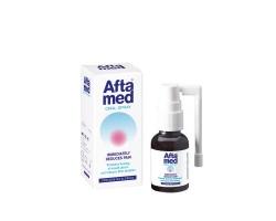 Aftamed Spray Κατάλληλο για πολλαπλά έλκη Ανακουφίζει άμεσα από τον πόνο  20 ml