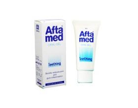Aftamed Teething Gel σχηματίζει ένα προστατευτικό φιλμ που ανακουφίζει τα βρεφικά ούλα από τα συμπτώματα της πρώτης οδοντοφυΐας 15 ml
