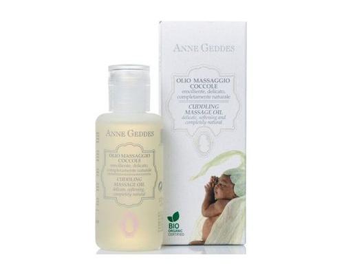 Anne Geddes Bio Cuddling Massage Oil, Βιολογικό Ενυδατικό Λάδι, 100ml.