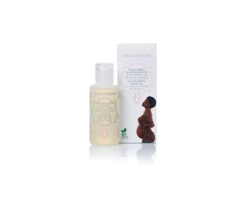 Anne Geddes Bio Μοther Elasticizing Body Oil, Βιολογικό Λάδι Ελαστικότητας και Προετοιμασίας Θηλών, 125ml.