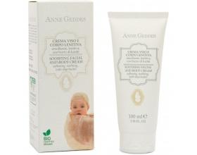 Anne Geddes, Bio Soothing Facial and Body Cream, Βιολογική Ενυδατική Παιδική Κρέμα για Πρόσωπο και Σώμα, 100ml.