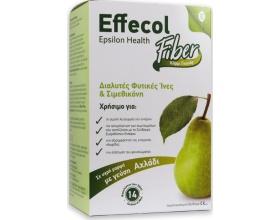 Epsilon Health Effecol Fiber Διαλύτες Φυτικές Ινες και Σιμεθικόνη, 14φακελάκια με γεύση αχάδι