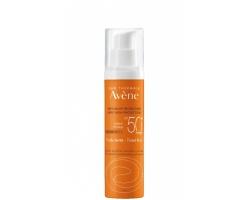 Avene Eau Thermale Solaire Fluide SPF50+ Teintee Αντηλιακή Λεπτόρρευστη Κρέμα Προσώπου με Χρώμα, για Κανονική, Μικτή & Λιπαρή επιδερμίδα, 50ml