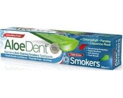 Optima AloeDent Triple Action Smokers, Οδοντόκρεμα για Καπνιστές, 100ml