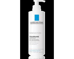 LA ROCHE-POSAY TOLERIANE Caring Wash Φροντίδα καθαρισμού για το πρόσωπο χωρίς άρωμα 400ml