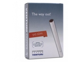 Vitorgan Venturi Stop Smoking System Σύστημα διακοπής καπνίσματος για Τσιγάρα Slim, 4φίλτρα