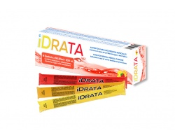 iDRATA Τροφή για ειδικους ιατρικους σκοπούς ,Ενδείκνυται σε περίπτωση απώλειας νερού ή ηλεκτρολυτών 8 Φακελάκια