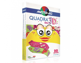 MASTER AID Quadra 3D Girls 20 Strip