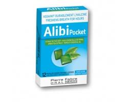 Pierre Fabre Alibi Pocket Παστίλιες κατα τις Κακοσμίας του Στόματος χωρίς Ζάχαρη, 12 παστίλιες