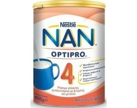 Nestle Nan 4 Optipro, Ρόφημα γάλακτος, 400gr