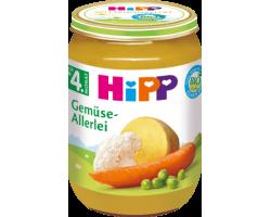 HiPP, Γεύμα Ποικιλίας Λαχανικών Βιολογικής Καλλιέργειας, Μετά τον 4ο Μήνα, 190gr