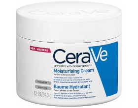CeraVe Moisturising Cream Ενυδατική κρέμα για ξηρό έως πολύ ξηρό δέρμα  340ml