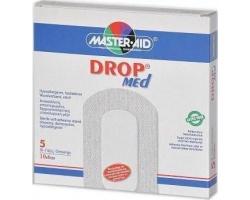 Master-Aid DropMed Αυτοκόλητη γάζα 10x6cm 5 Τεμ.
