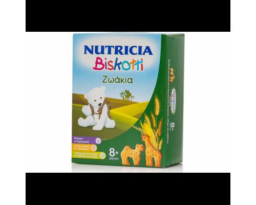 Nutricia, Biskotti, Bρεφικά Μπισκότα Ζωάκια, 8+m+, 180gr.