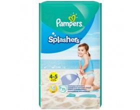 Pampers Splashers, Πάνα-Μαγιό, Μέγεθος 4-5, 9-15kg, 11 πάνες