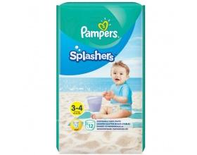 Pampers Splashers, Πάνα Μαγιό, Μέγεθος 3-4, 6-11kg, 12 Πάνες.