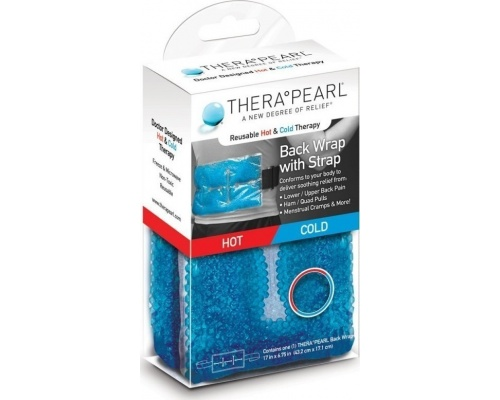 Thera Pearl Θερμοφόρα / Παγοκύστη Για Tη Μέση Mε Ζώνη Περίδεσης 43.2cm x 17.1cm 1 Τεμάχιο