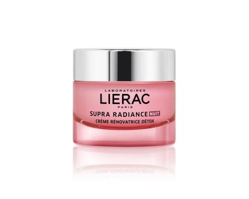 Lierac Supra Radiance Creme Κρέμα Νύχτας Κρέμα αποτοξίνωσης & ανανέωσης, 50ml