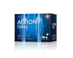 Altion Osteo συμπλήρωμα διατροφής που περιέχει θειική γλυκοζαμίνη, θειική χονδροϊτίνη, υδρολυμένο κολλαγόνο, μεθυλοσουλφονυλομεθάνιο (MSM), βιταμίνη C και L-καρνιτίνη 30 Φακελάκια