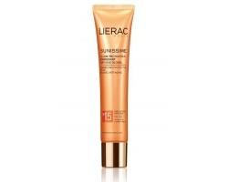 Lierac Sunissime Fluide Protect Énergisant Anti-Age Global, Λεπτόρρευστη Αντηλιακή Κρέμα Προσώπου ολικής αντιγήρανσης spf 15, 40ml