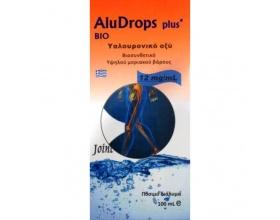Aludrops Plus Πόσιμο Υαλουρονικό Οξύ για Λίπανση των Αρθρώσεων και Ενυδάτωση Δέρματος και Ματιών 100ml