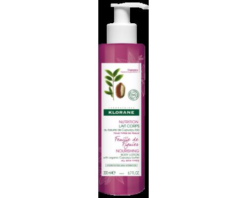 Klorane Nourishing Body Lotion with Organic Cupuacu Butter & Fig Leaf Θρεπτικό Γαλάκτωμα Σώματος με Άρωμα Φύλλου Συκιάς 200ml