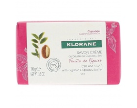 Klorane Savon Creme Cupuaçu Feuille de Figuier Κρεμώδες Σαπούνι Αιθέριο Έλαιο Σύκου, 100gr