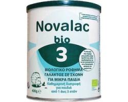 Novalac Bio 3 Βιολογικό Γάλα σε Σκόνη 3ης Βρεφικής Ηλικίας 400gr
