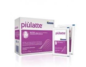Humana Piulatte Συμπλήρωμα Διατροφής για Θηλάζουσες Γυναίκες με βιταμίνες B12, D3 και Silitidil, 70gr