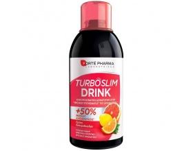 FORTE PHARMA Turboslim drink Στέγνωμα Σιλουέτας, Ενίσχυση Καύσεων, Γεύση Εσπεριδοειδών 500ml