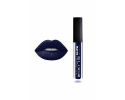 Elixir Liquid Lip Matte Ενυδατική φόρμουλα Κραγιόν μεγάλης διάρκειας 412 (Blue Black)