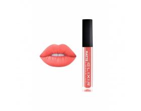 Elixir Liquid Lip Matte Ενυδατική φόρμουλα Κραγιόν μεγάλης διάρκειας 378 (Coral)