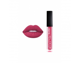 Elixir Liquid Lip Matte Ενυδατική φόρμουλα Κραγιόν μεγάλης διάρκειας 380 (Raspberry Sherbet)