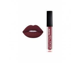 Elixir Liquid Lip Matte Ενυδατική φόρμουλα Κραγιόν μεγάλης διάρκειας 408 (Deep Ruby)