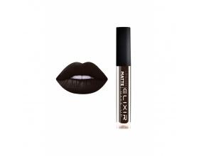 Elixir Liquid Lip Matte Ενυδατική φόρμουλα Κραγιόν μεγάλης διάρκειας 413 (Luxury Black)