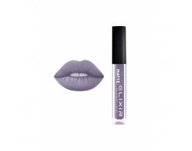 Elixir Liquid Lip Matte Ενυδατική φόρμουλα Κραγιόν μεγάλης διάρκειας 416 (Purple Grey)