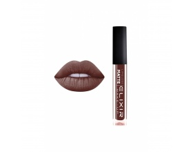 Elixir Liquid Lip Matte Ενυδατική φόρμουλα Κραγιόν μεγάλης διάρκειας 419 (Chocolate Kiss)