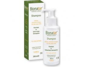 BodermBionatar Shampoo, Σαμπουάν για την Ανακούφιση των Συμπτωμάτων της Ψωρίασης κα της Σμηγματορροϊκής Δερματίδας, 200ml