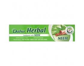 SAMCOS Charak Dabur Herbal Toothpaste Neem Φυτική Αγιουρβεδική Οδοντόκρεμα για τα ούλα 100ml