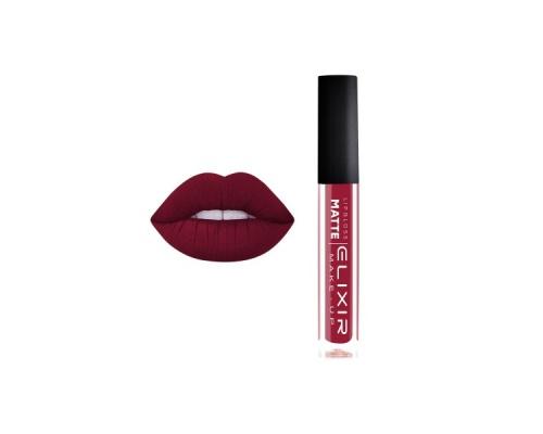 Elixir Lip Metalmat Ματ Μεταλλικό Κραγιόν μεγάλης διάρκειας 376 ( crimson)