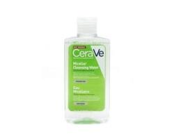 CeraVe Micellar Cleansing Water Καθαριστικό Νερό Ντεμακιγιάζ Καθαρίζει αποτελεσματικά, ενυδατώνει και αφαιρεί το μακιγιάζ 295ml